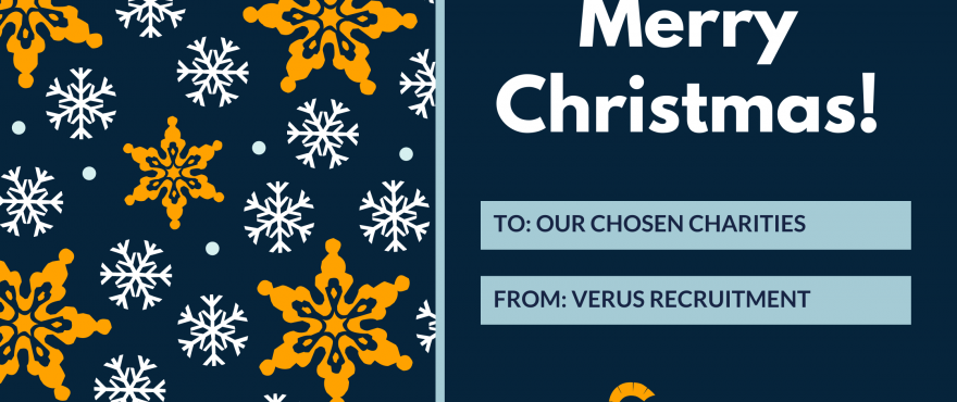 Verus Recruitment Partners 2020 Charity Appeal